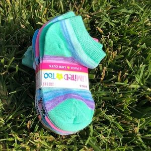 Other - 6 PACKS Low Cuts Girls Socks